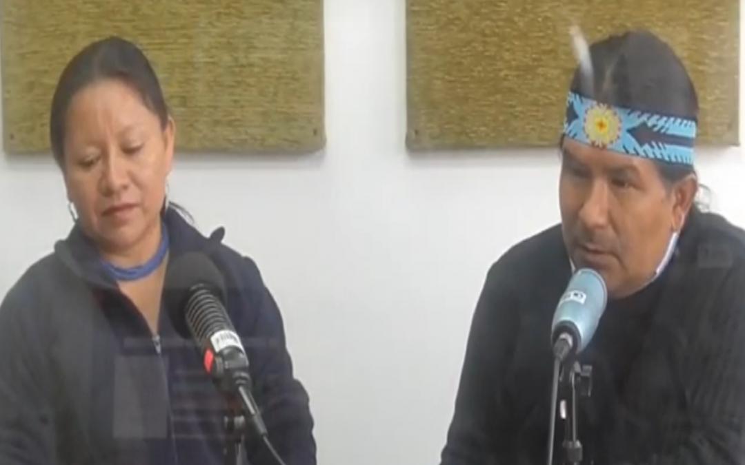 Paro Indígena de Octubre: Marlon Santi y Miriam Cisneros